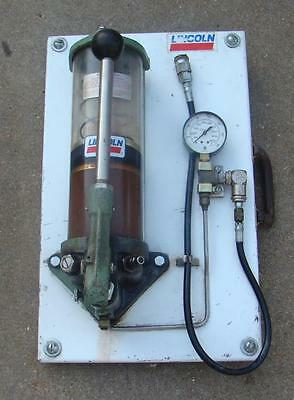 Lincoln Quicklub Grease Pump Air Operated