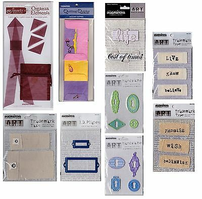 Scrapbook Embellishments and Accessories Set (9 Sealed Packets)