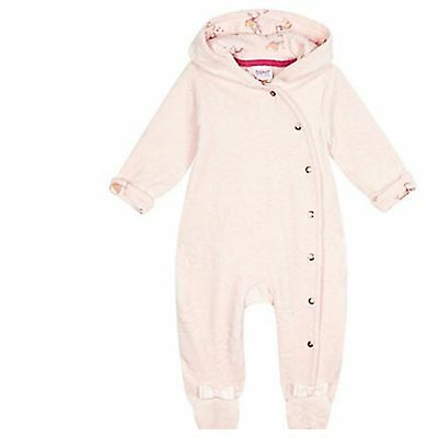 Ted Baker Baby Girls Volour All In One Suit. 9-12 Months. BNWT. Designer