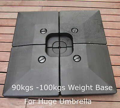 New 100kg Plastic Umbrella shade Base Plate Stand for Cantilever Offset Umbrella