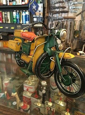 Moto Guzzi Tin Toy Bike