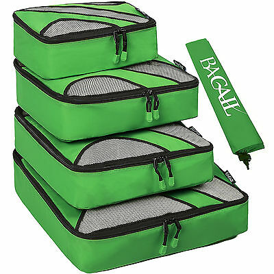 Father's Day Gift 5 Pcs  Packing Cubes Travel Luggage  Organizers Laundry Bags