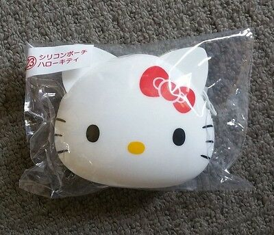 Brand NEW Genuine from Japan Hello Kitty Cute Silcone Coin Pouch