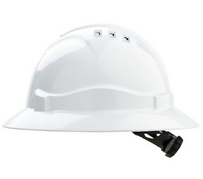 Pro Choice Full Brim Lightweight Vented Hard Hat V6 | AUTHORISED DEALER