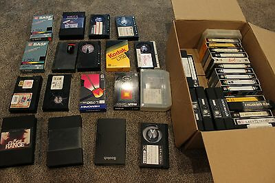 Lot of 40 Vintage Beta Video Pre Recorded Tapes and Movies