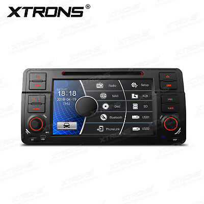 AUTORADIO FÜR 3er BMW E46 GPS NAVI NAVIGATION BLUETOOTH DVD CD USB SD MP3 CANBUS