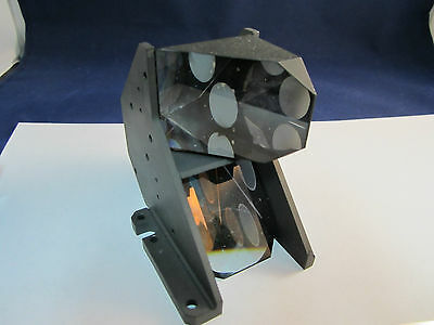 OPTICAL MIL SPEC PRISM ASSEMBLY [chipped on edge] LASER OPTICS BIN#20