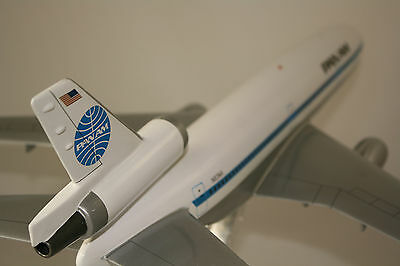 PAN AMERICAN McDONNELL DOUGLAS DC10 - 30 MASSIVE 1:100 SCALE HANDCRAFTED MODEL
