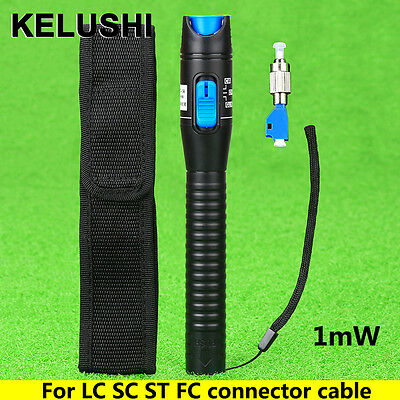 5mW plastic Visual Fault Locator Fiber Tester Detector FC to LC connector Adapte