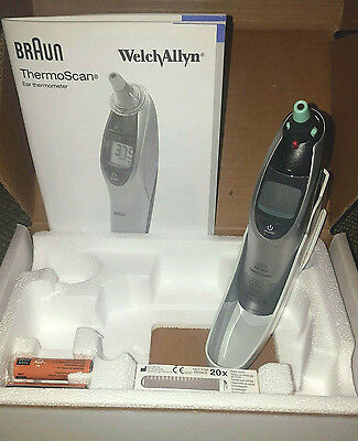 Thermoscan Pro 4000 Profi-Fieberthermometer Ohrthermometer Braun Welch Allyn!