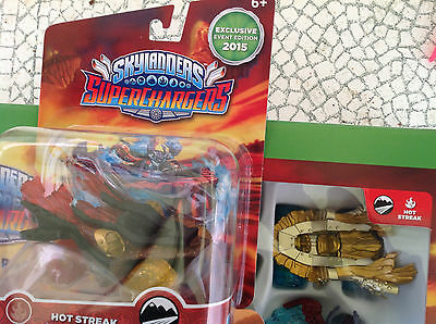 SKYLANDERS SUPERCHARGERS GOLD HOT STREAK and E3 2015 EVENT EXCLUSIVE - NEWS