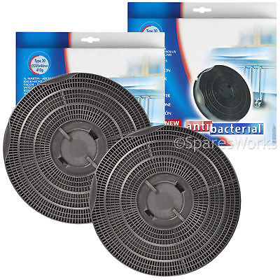 CANDY CBP61N Genuine Cooker Hood Type 30 Carbon Charcoal Vent Filters x 2