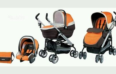 Trio Peg Perego 3 In 1 Plico Switch Come Nuovo