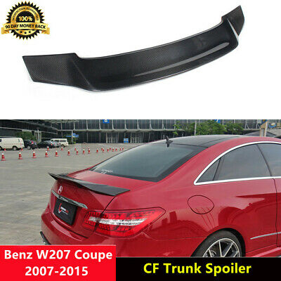 Carbon Fiber Trunk Spoiler Wing for Mercedes Benz W207 C207 Coupe 10-15 R Style