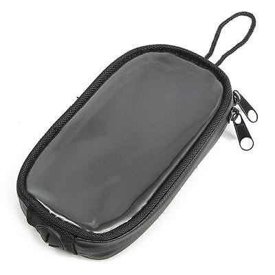 Black Motorbike Tank Bag/ Motorcycle Waterproof Bag Screen Touch Navigation Bag