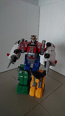 Power Rangers Turbo Double Morphin Rescue Megazord with Weapons