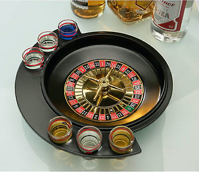 DRINKING ROULETTE - GAME Party Man Cave Board Game Fathers Gift Fun BAR drink