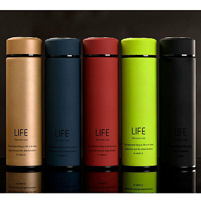 500ML Stainless Steel Vacuum Cup Mug Travel Insulated Office Container Thermos