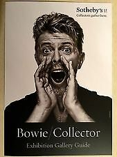 """BOWIE COLLECTOR"" SOTHEBY'S David Bowie Art Auction Exhibition Gallery Guide"