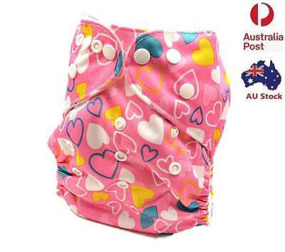 Baby Girl Modern Cloth Nappies Nappy Waterproof Outer Layer Material (D143)