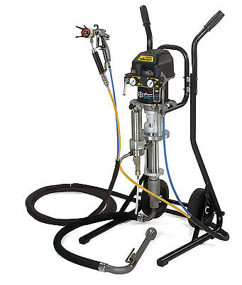 Wagner Puma 28-40 Aircoat sprayer. Teknos & most water & solvent joinery coating