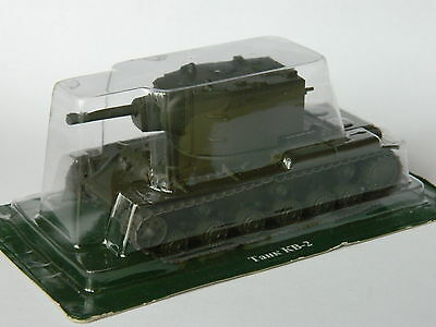 KV-2, Russia, 1:72nd scale diecast tank №11 by Fabbri