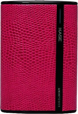 The Kase Collection Batterie Externe Fashionista, 8400 mAh, Rose Lezard Neuf