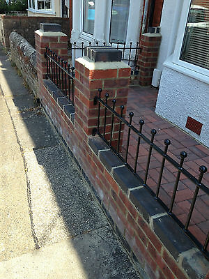 """24"""" High Wrought Iron Metal Fencing/railings Panel Type S24"""