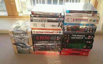 Job Lot Of DVD'S , Blu Ray & DVD Boxset's - Some Are Still Factory Sealed