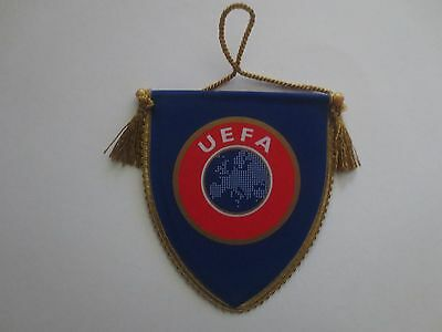 Uefa Football Association Pennant. Union Of European Football Associations