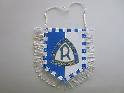 Ruch Chorzow Polish Football Club Pennant, Uefa Poland Ekstraklasa Soccer League