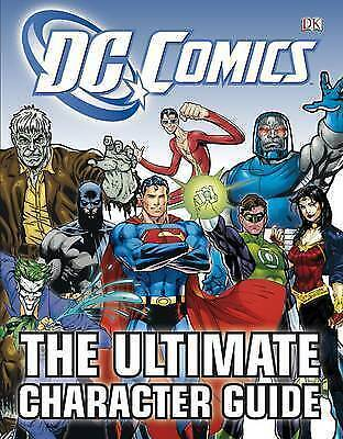 Marvel DC Comics The Ultimate Character Guide Hardback Book 2011