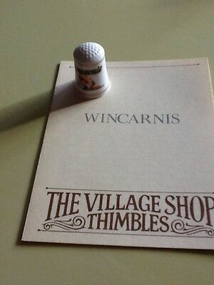 Wincarnis Advertising Thimble