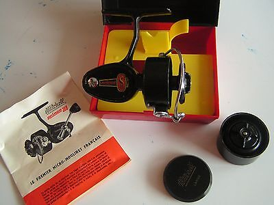 Ancien Moulinet Mitchell 308 Prince  Reel Fishing Carrete Mulinello Vintage