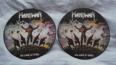 """Manowar The Lord Of Steel  """"Ltd Edition Doble Lp Picture Disc"""""""