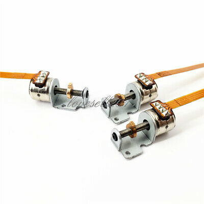 2PCS DC 3-5V Micro-stepper Motors with Slide Two-phase Four-wire Stepper Motor M