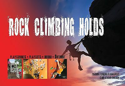 50 ROCK CLIMBING HOLDS NEW Kids FREE SHIPPING Cyber Monday Deal