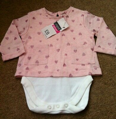 Bnwt Next Baby Girls Vest Top Age 3-6 Months