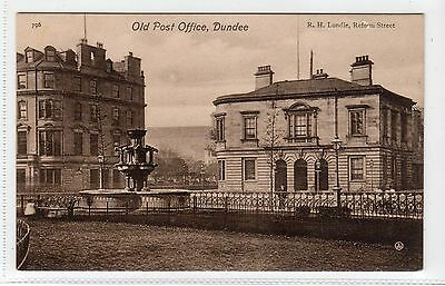 OLD POST OFFICE, DUNDEE: Angus postcard (C11887)