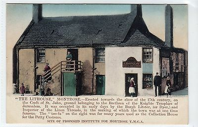 """THE LITHOUSE"" MONTROSE: Angus postcard (C11892)"