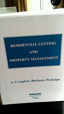 Residential Letting And Property Management Business Package Manual