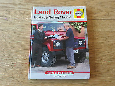 Land Rover Buying & Selling Manual Haynes H4336