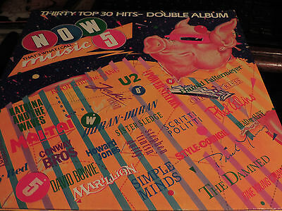 Double Album Now Thts What I Call Music 5 1985 And Very Much Alive