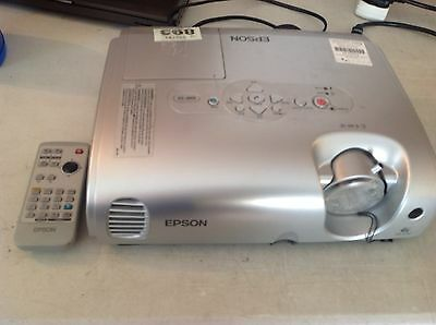 Epson 3LCD Projector Model: EMP-S3 Ref: 893