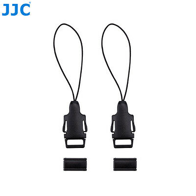 JJC Quick Release Buckle Kit for Neck Strap to Camera Eyelet Ricoh GR GR II etc.