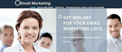 MONEY MAKING Autopilot website for sale Email leads list FREE 1Y HOSTING
