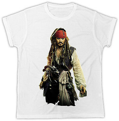 Johnny Depp Jack Sparrow Poster Ideal Gift Present Cool Funny Tshirt