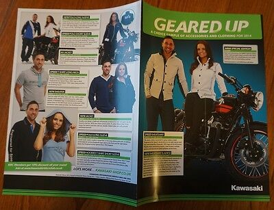 Kawasaki Clothing & Acessories Brochure 2014 W800 Special Edition Shirt Jacket