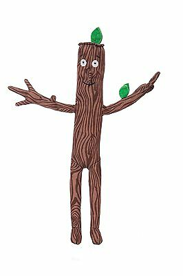 The Gruffalo 13 inch Stick Man. Plush Cuddly Soft Toy Teddy Julia Donaldson