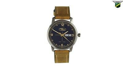 Land Rover New Genuine Brown Leather Strap Heritage Watch 51LBWM576BNA